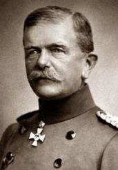 генерал Фридрих фон Шолц (1851 - 1927)