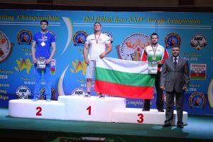 Краси Костадинов, Емил Илчев-100 kg