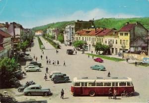 Градът през 50-те години | Снимка: РИМ - Монтана