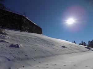 Сняг, слънце и крепост - малка част от Белоградчик