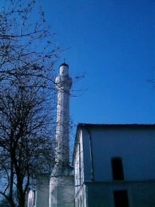 Минарето на джамията | снимка: Весела Николаева