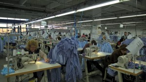 """Работният ден в """"Слам клоудинг ЕООД енд Ко"""" във Видин   снимка: Slam Group"""