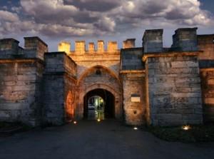 """Една от крепостните порти - """"Капии"""", на Видин"""