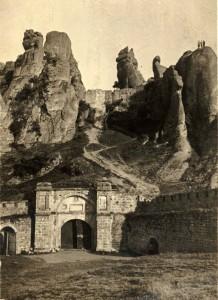 Крепостта в Белоградчик в началото на XX век