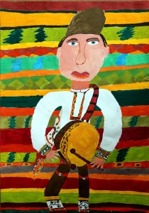 Рисунката на Виктор Иванов