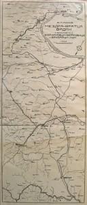 Карта на жп линията  | източник: Б Тошев