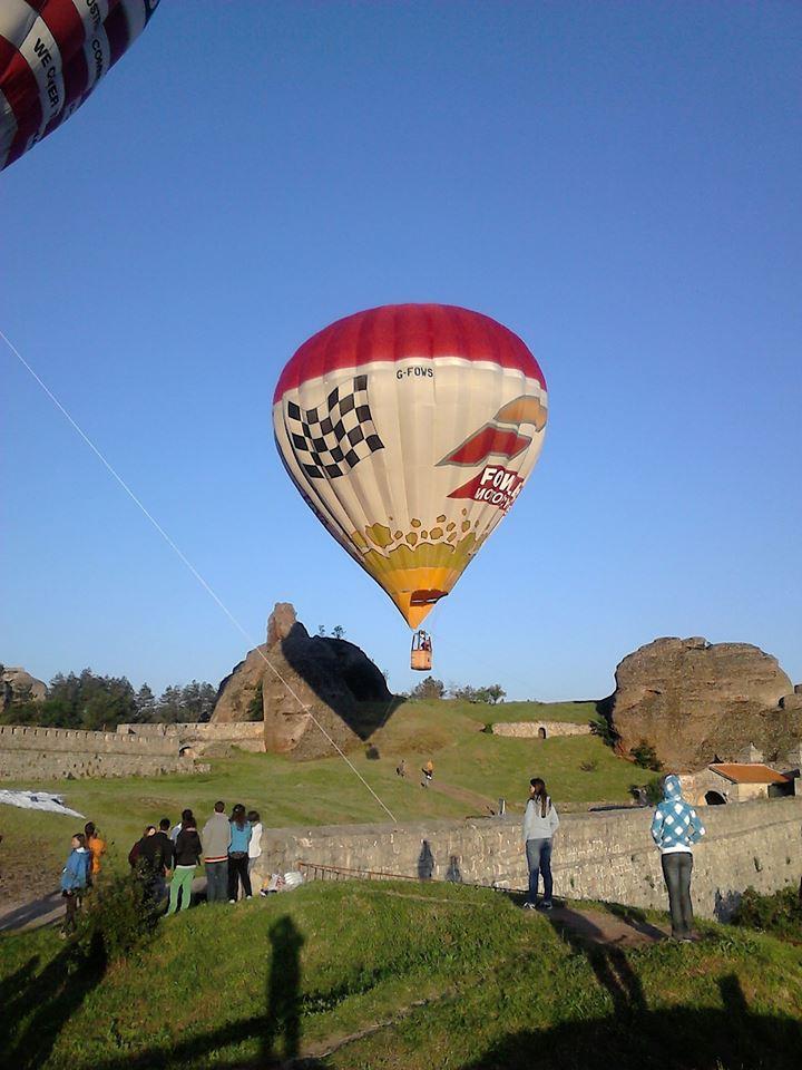 Балони над Белоградчик   снимка: общ. Белоградчик