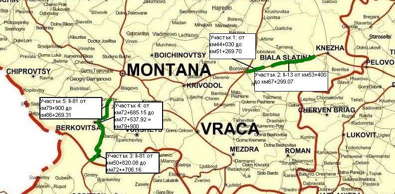 Карта на Петрохан от АПИ