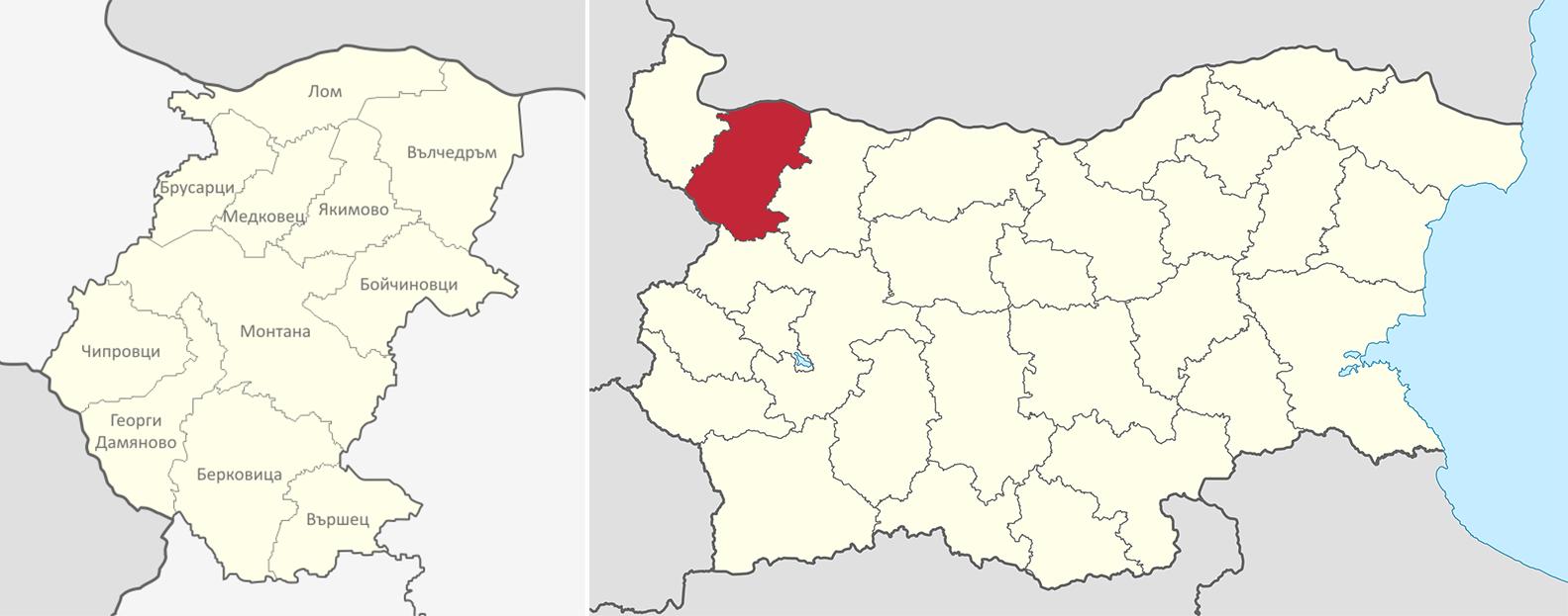 Област Монтана