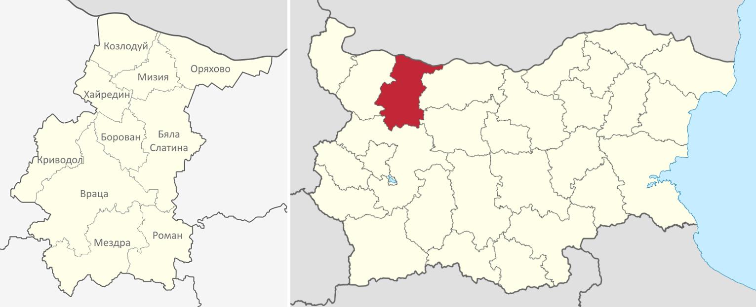 Област Враца
